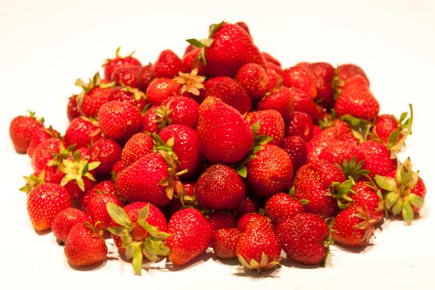 erdbeerhaufen